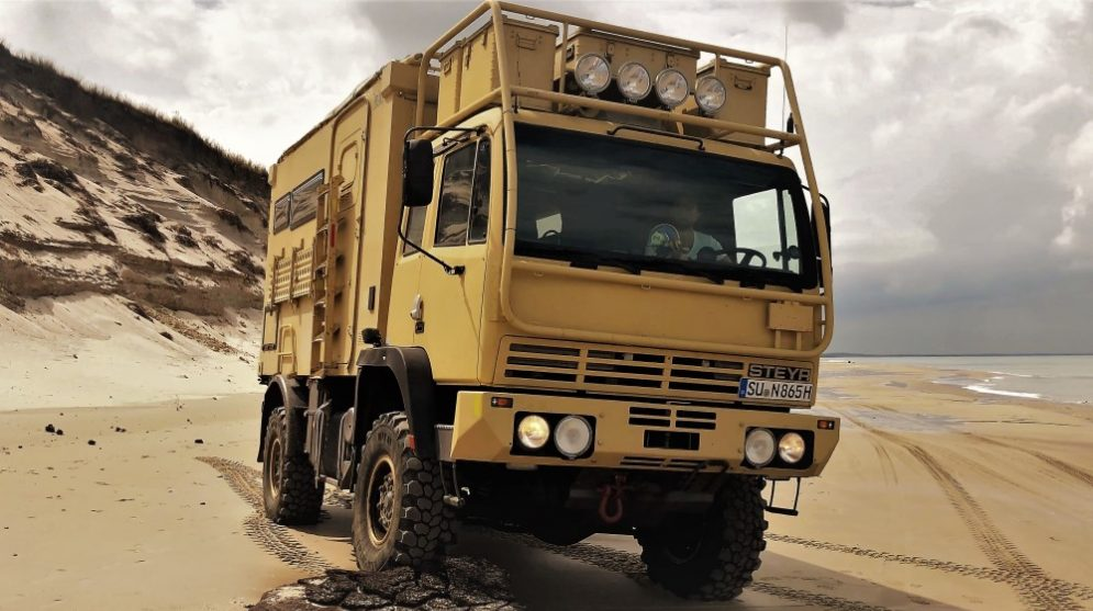 Steyr 12M18, Expedition, Wohnmobil, 4x4